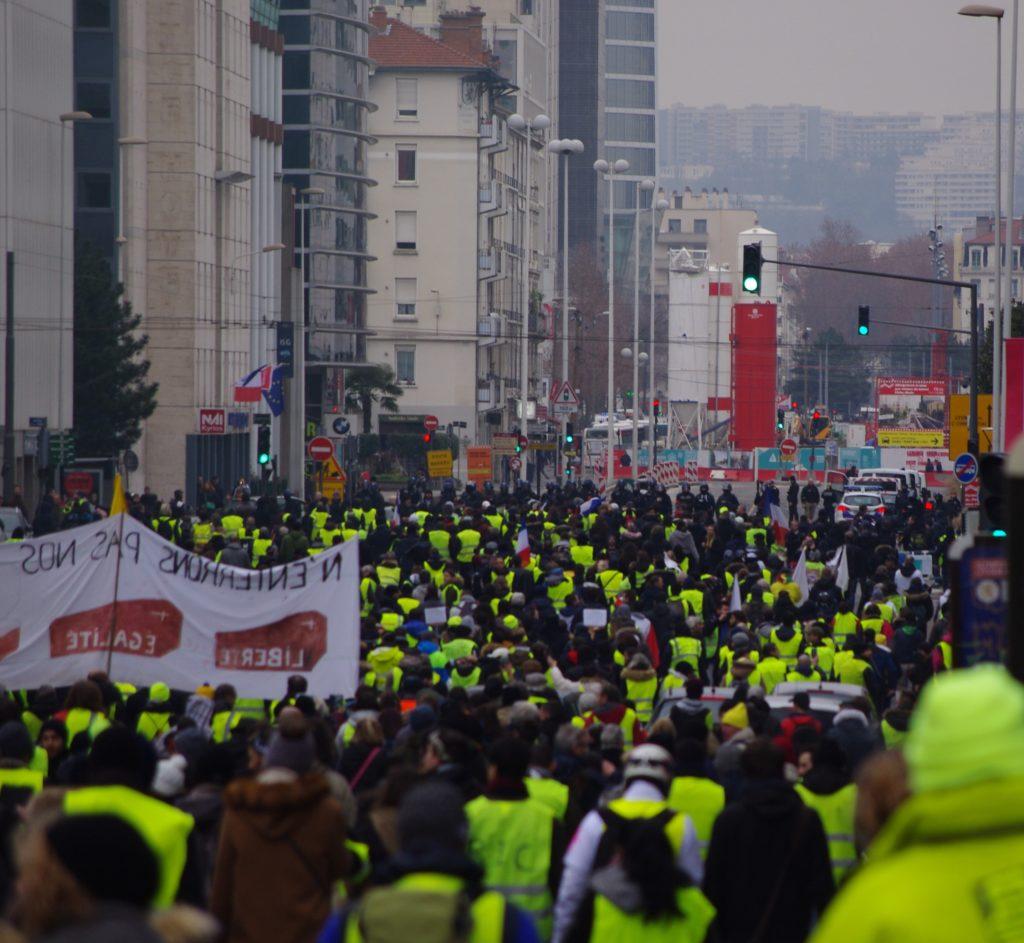 Manifestation Gilets Jaunes